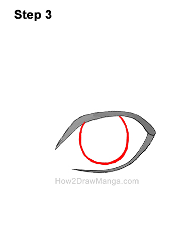 How to Draw a Manga Eye Boy Cartoon Chibi Kawaii 3