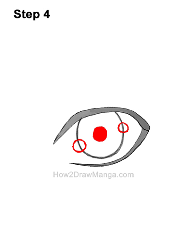 How to Draw a Manga Eye Boy Cartoon Chibi Kawaii 4