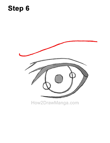 How to Draw a Manga Eye Boy Cartoon Chibi Kawaii 8