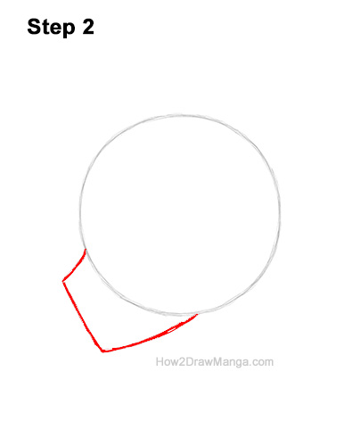How to Draw Basic Manga Boy Head Face Side View Anime Chibi Kawaii 2
