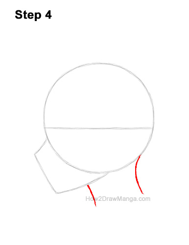 How to Draw Basic Manga Boy Head Face Side View Anime Chibi Kawaii 4