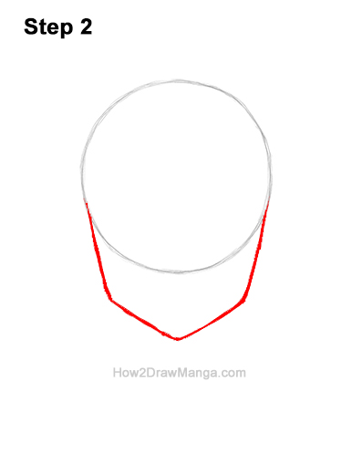 How to Draw a Manga Girl Happy Content Face Anime Chibi Kawaii 2