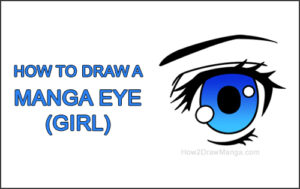How to Draw a Manga Eye Girl Cartoon Chibi Kawaii Thumbnail