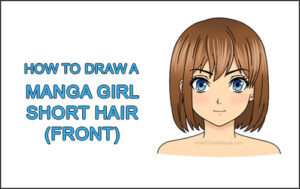 How To Draw A Manga Girl In School Uniform Front View Step By Step Pictures How 2 Draw Manga