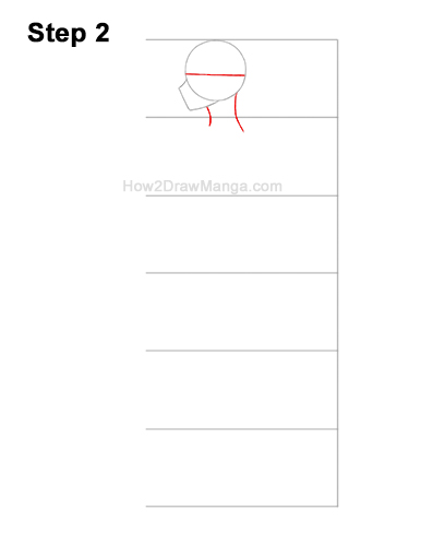 How to Draw a Basic Manga Boy Male Man Full Body Side View Anime 2