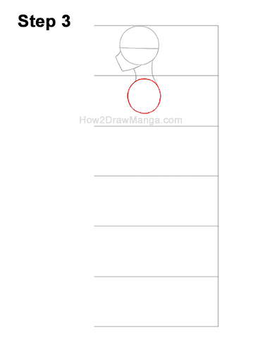 How to Draw a Basic Manga Boy Male Man Full Body Side View Anime 3