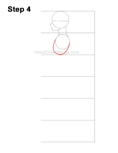 How to Draw a Basic Manga Boy Male Man Full Body Side View Anime 4