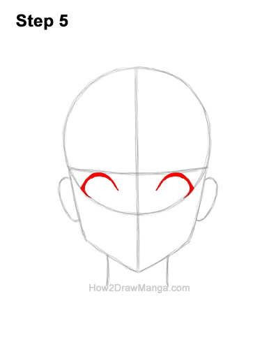 How to Draw a Manga Girl Woman Surprised Shocked Face Anime Short Hair 5