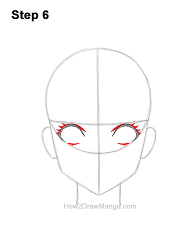 How to Draw a Manga Girl Woman Surprised Shocked Face Anime Short Hair 6