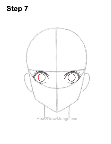 How to Draw a Manga Girl Woman Surprised Shocked Face Anime Short Hair 7
