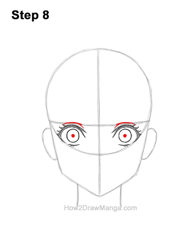 How to Draw a Manga Girl Woman Surprised Shocked Face Anime Short Hair 8