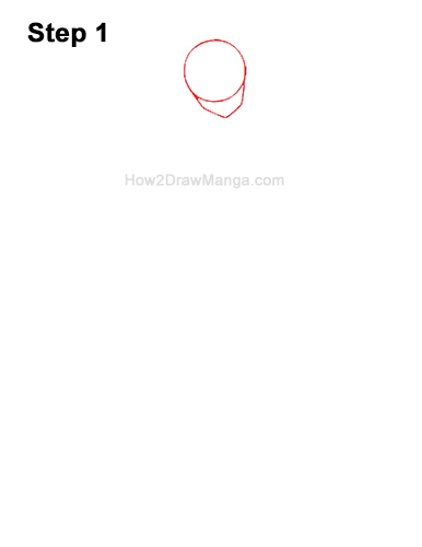 How to Draw a Basic Manga Anime Girl Female Woman Full Body Three Quarter 3/4 View 1