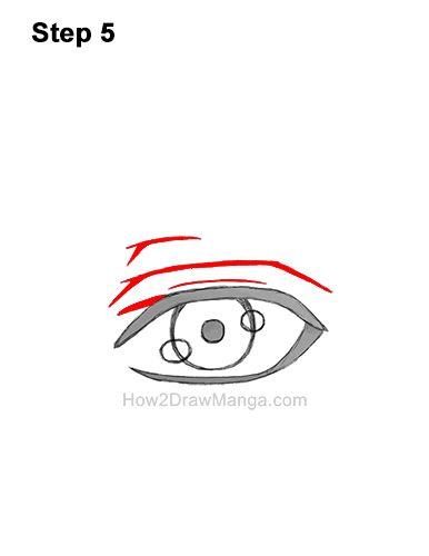 How to Draw a Manga Eye Anime Adult Man Male Boy Guy 5