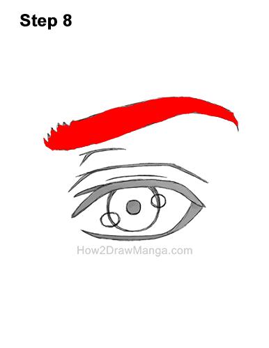 How to Draw a Manga Eye Anime Adult Man Male Boy Guy 8