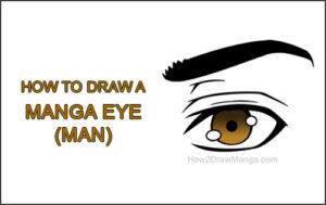 How to Draw a Manga Eye Anime Adult Man Male Boy Guy Thumbnail