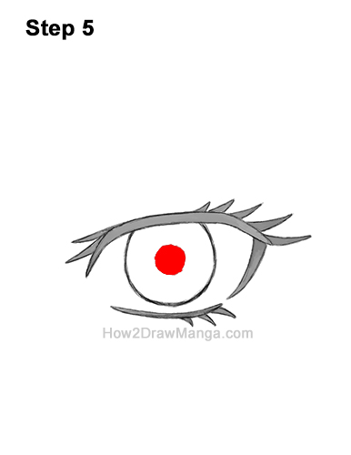 How to Draw a Manga Eye Anime Adult Woman Female Girl 5