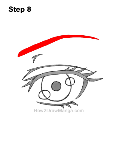 How to Draw a Manga Eye Anime Adult Woman Female Girl 8