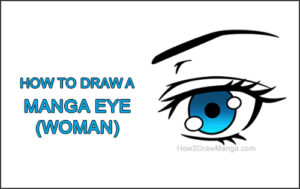How to Draw a Manga Eye Anime Adult Woman Female Girl Thumbnail