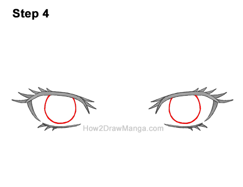 How to Draw Both Manga Eyes Anime Adult Woman Female Girl 4