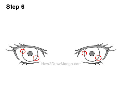 How to Draw Both Manga Eyes Anime Adult Woman Female Girl 6