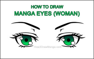 How to Draw Both Manga Eyes Anime Adult Woman Female Girl Thumbnail